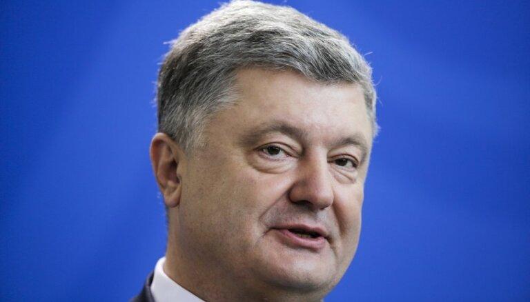 Ukrainai jāatgriežas Eiropas valstu saimē, uzskata Porošenko