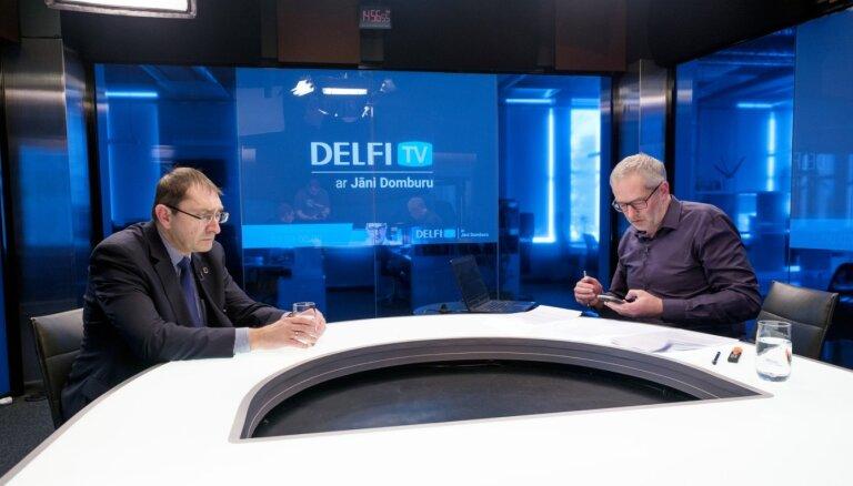 'Delfi TV ar Jāni Domburu' Linkaits atbild par ārkārtas situācijas risinājumiem satiksmes jomā. Pilns ieraksts