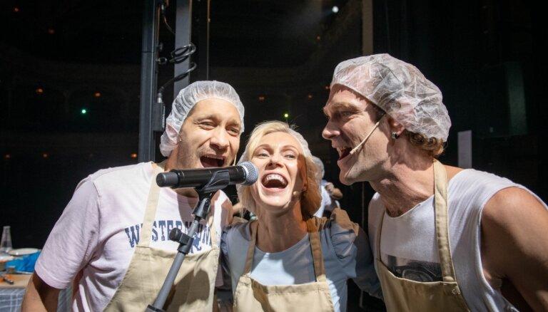 Nacionālā teātra 'Īsto' sērijā jauns koncerts 'Īstā sālsmaize'
