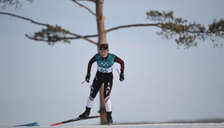 Distanču slēpotājai Eidukai augstā 36.vieta pasaules čempionāta sprinta kvalifikācijā
