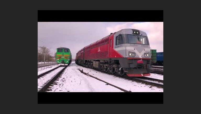 Pirmais kravas ekspresvilciens Rīga-Minska ved kravu no Indijas