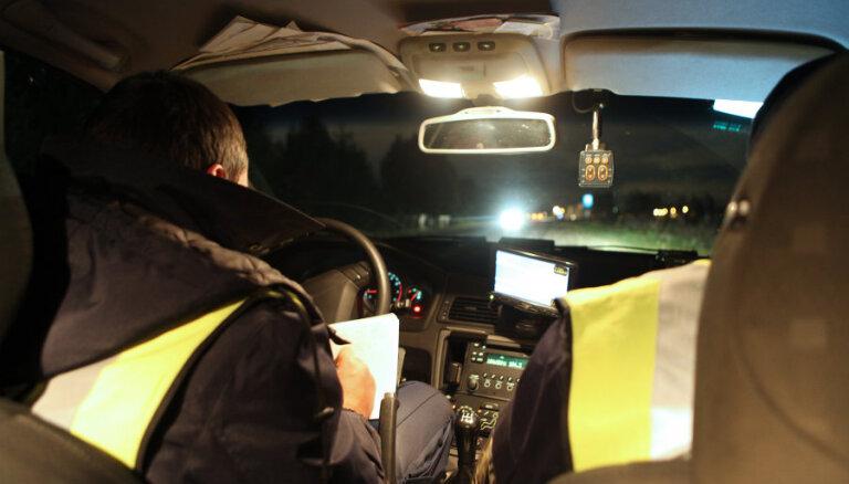 Ночная погоня: женщина на Peugeot попыталась скрыться от полиции