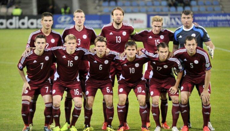 Январский рейтинг ФИФА: Латвию догнал Китай
