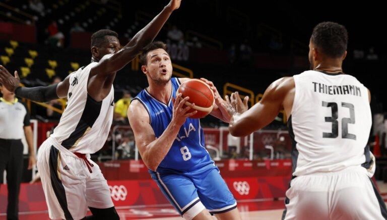 Tokijas vasaras olimpisko spēļu vīriešu basketbola turnīra rezultāti (25.07.2021)