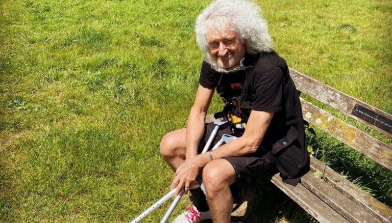 Pamatīgi sašķobījusies 'Queen' ģitārista Braiena Meja veselība