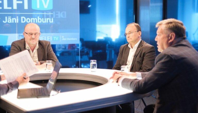 Par ko balsot? Igors Pimenovs, Jānis Ādamsons un Jānis Urbanovičs. Diskusijas teksts