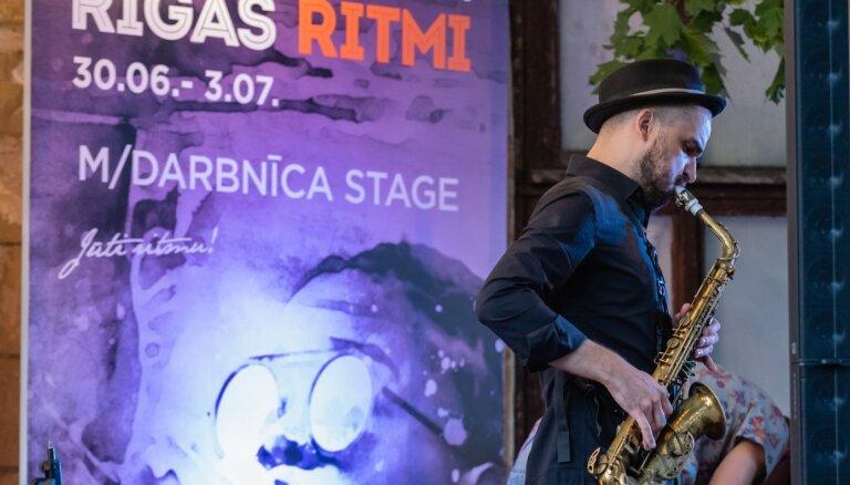 Foto: Sācies starptautiskais džeza festivāls 'Rīgas ritmi'