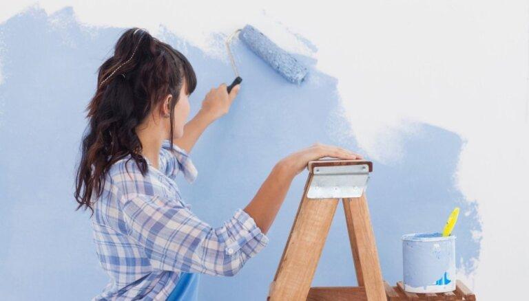 Unikāls sienas krāsojums, ko paveiks pat neprasmīgākie krāsotāji
