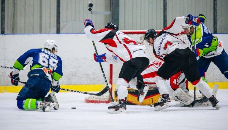 'Mogo' hokejisti virslīgas mačā pārspēj 'Zemgale'/LLU un pārņem OHL līderpozīcijas