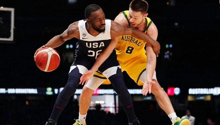 Austrālijas basketbolisti pirmo reizi vēsturē pārspēj ASV izlasi