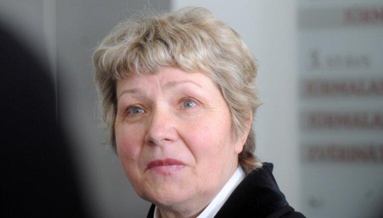 Izdienas pensijā dosies daudzu skaļu korupcijas lietu prokurore Velta Zaļūksne