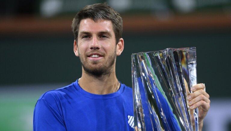 Norijs kļūst par pirmo britu tenisistu, kurš uzvarējis Indianvelsas turnīrā