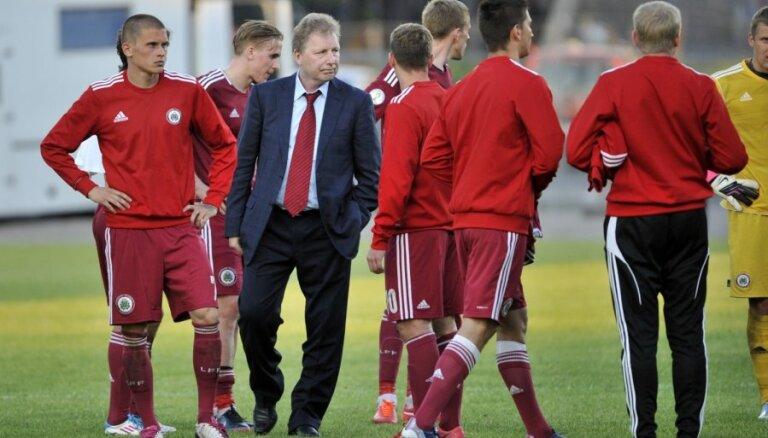 Latvijas futbolistu graujošais zaudējums: kā izskatāmies uz Baltijas fona?