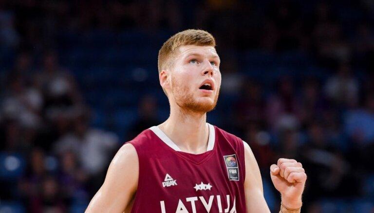 Dāvis Bertāns apliecina vēlmi palīdzēt Latvijas izlasei Pasaules kausā