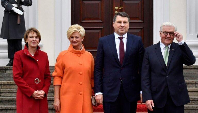 Вейонис в Берлине: Латвия высоко ценит поддержку Германии странам Балтии