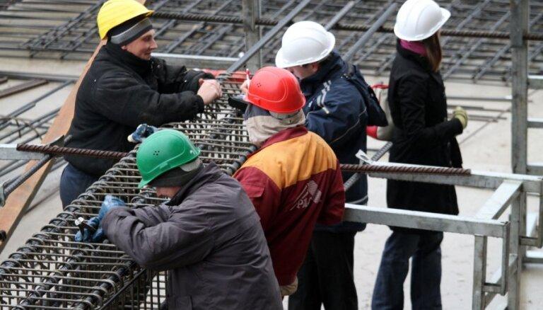 Gada laikā būvniecības strādnieku darba samaksa augusi par 10%