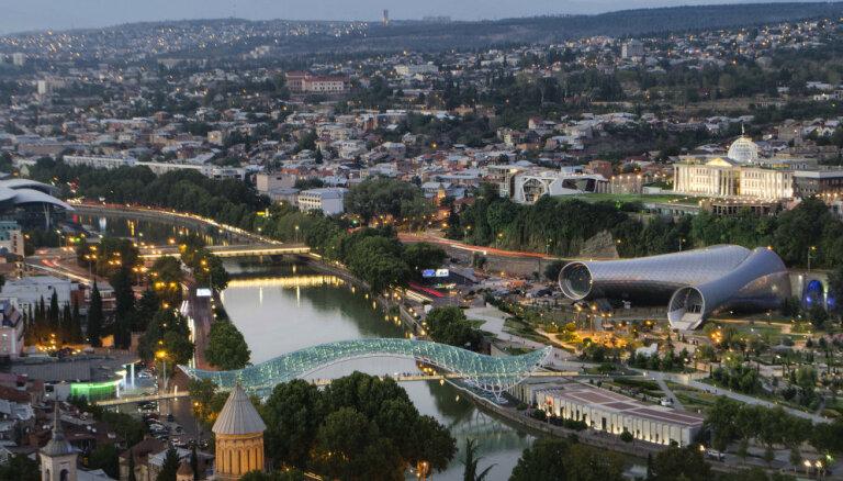 Участники массовой акции в Тбилиси требуют отставки правительства