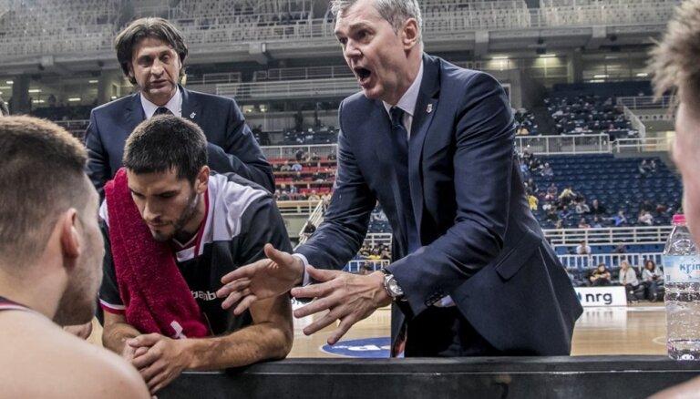 Bagatska vadītajai 'Brose Bamberg' vēl viens zaudējums FIBA Čempionu līgā