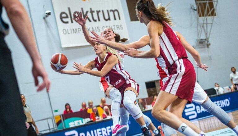 Latvijas basketbolistes svarīgā mačā pieveic Horvātiju un saglabā cerības EČ kvalifikācijā