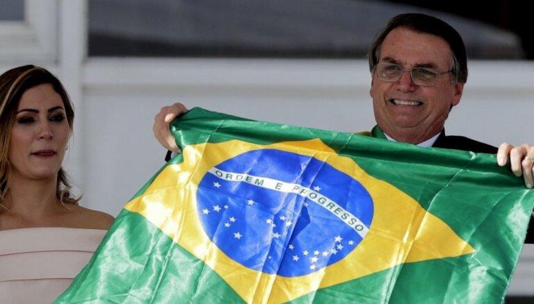 'Brazīlija sāks atbrīvoties no sociālisma,' pēc inaugurācijas sola 'Tropu Tramps'