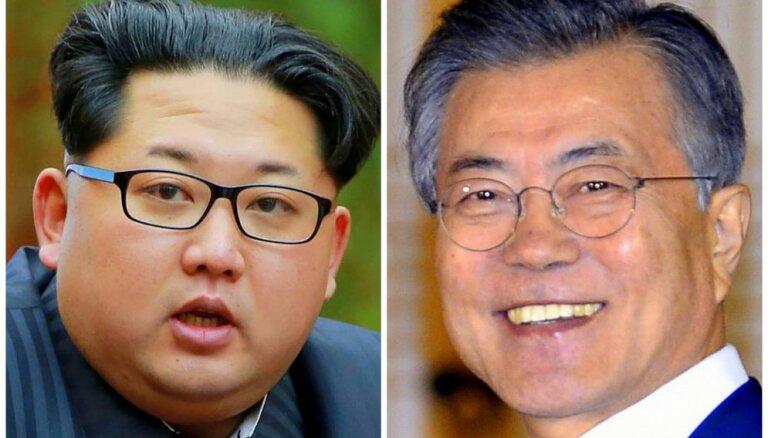 Abu Koreju līderi beidzot vienojas tikties