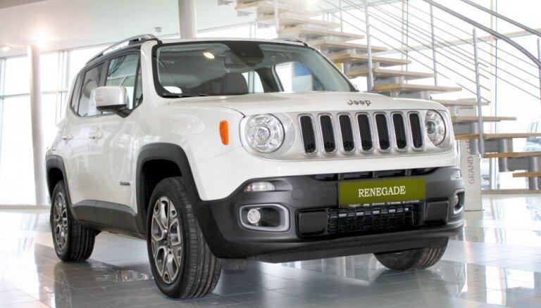 Tirdzniecībā Latvijā nonācis 'Jeep' mazākais modelis 'Renegade'