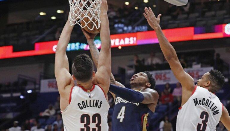 Dairis Bertāns paliek uz rezervistu soliņa 'Pelicans' zaudējumā