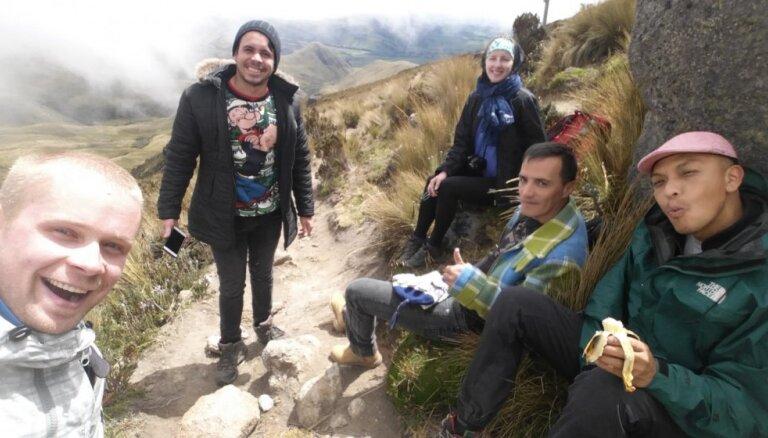 Nejoko ar augstkalni! Latviešu ceļotāja pieredze Ekvadorā 5000 metru augstumā