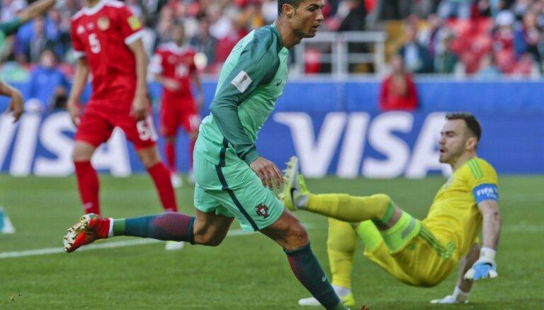 ВИДЕО: Роналду решил исход матча с Россией на Кубке конфедераций