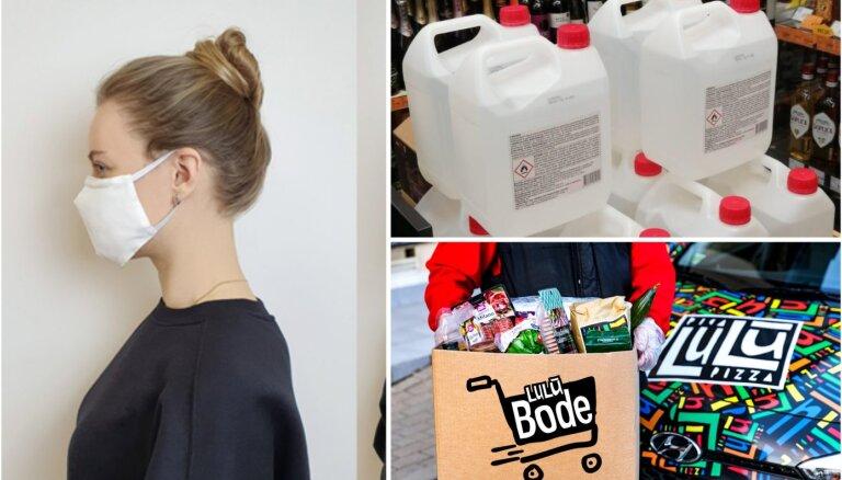 Jauni produkti un pakalpojumi: kā vietējie uzņēmumi pielāgojas situācijai Covid-19 laikā