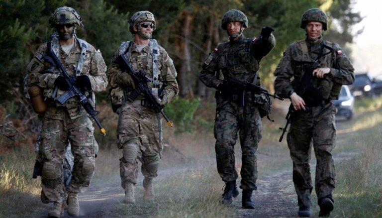 """В Латвии начинаются международные военные учения """"Анаконда 18"""""""