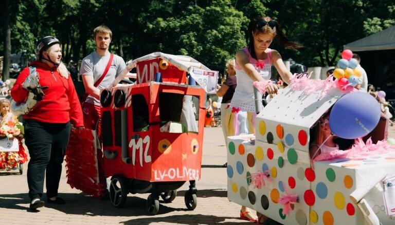 8 июня в Риге в рамках семейного фестиваля состоится Парад колясок