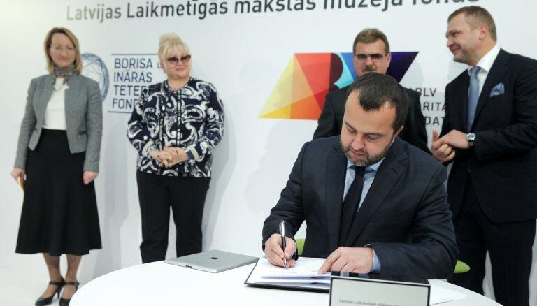 Mecenāti Laikmetīgās mākslas muzeja projektu vēlas atdāvināt valstij