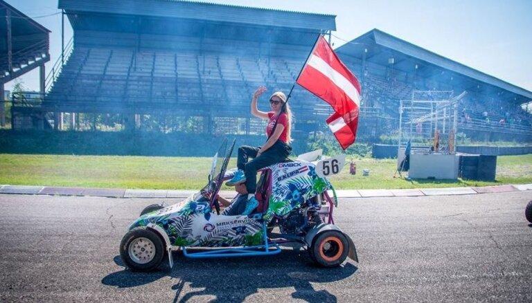 Beate Klipa – dāma autosportā, kura nebaidās no vīriešu konkurences