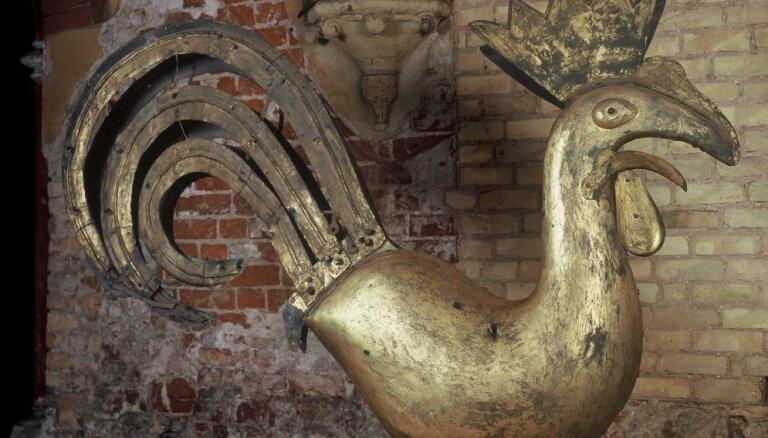 Rīgas vēstures un kuģniecības muzeja Ģimeņu dienā varēs apskatīt veco Rīgas Doma torņa gaili
