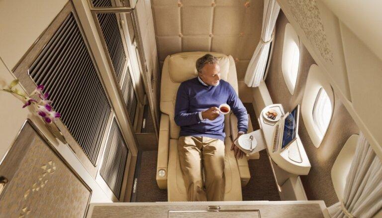 Sava istaba lidmašīnā: 'Emirates' izziņo pārsteidzošus gaisa kuģa uzlabojumus