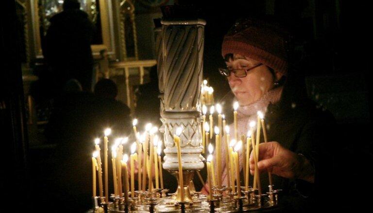 Pareizticīgie un vecticībnieki svin Ziemassvētkus