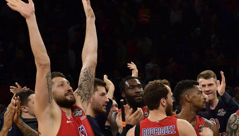 CSKA kļūst par 'Anadolu Efes' pretinieci ULEB Eirolīgas finālā
