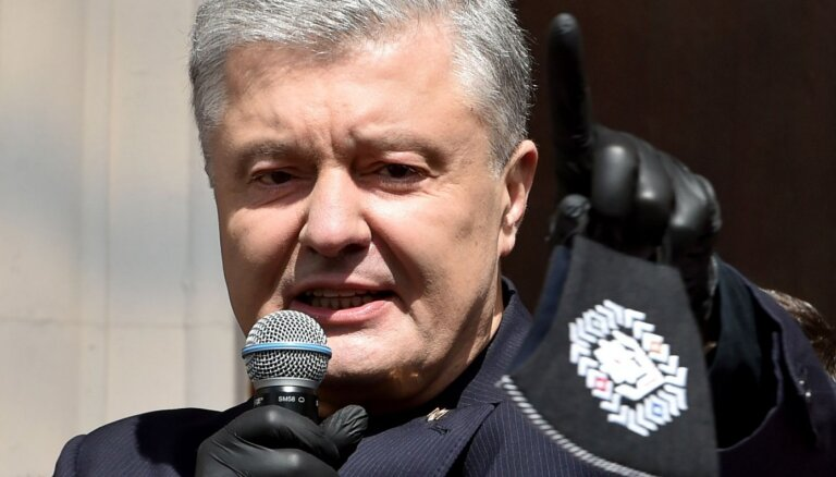 Ukrainas eksprezidents Porošenko atklāj saistību ar 33 vagneriešu lietu Baltkrievijā
