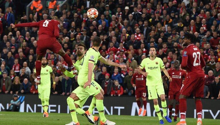 'Liverpool' fantastiski atspēlējas pret 'Barcelona' un iekļūst UEFA Čempionu līgas finālā