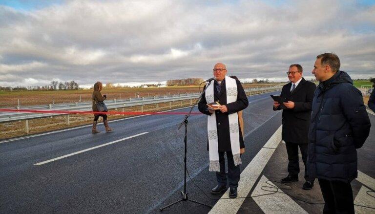 Путь через Литву станет удобнее: открылась скоростная трасса Каунас - Мариямполе