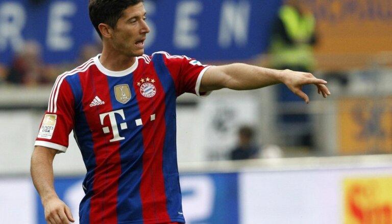 'Bayern' un 'Chelsea' Čempionu līgā pretiniekus grauj ar sešu vārtu pārsvaru