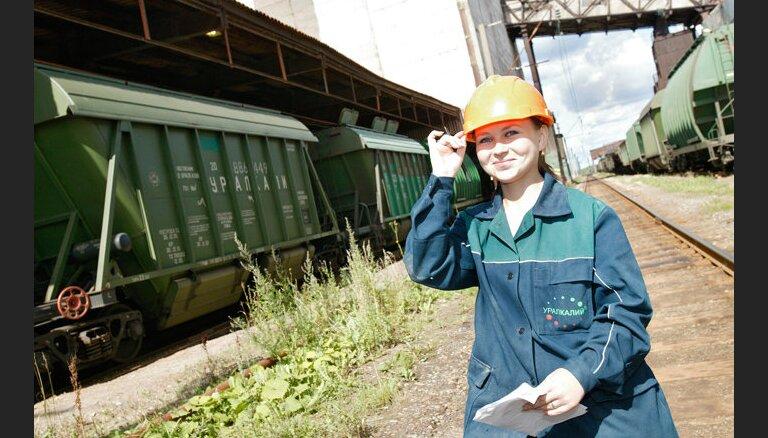 'Uralkali Trading' apgrozījums sarucis zem 2 miljardiem eiro