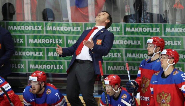 ВИДЕО: Знарок впервые обыграл канадцев как тренер сборной России