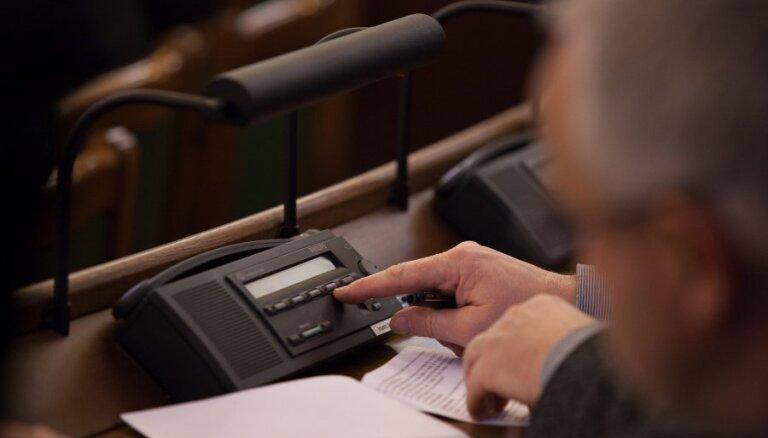 Saeima pēc prezidenta ierosinājuma atjauno kultūrvēsturisko novadu ģerboņus
