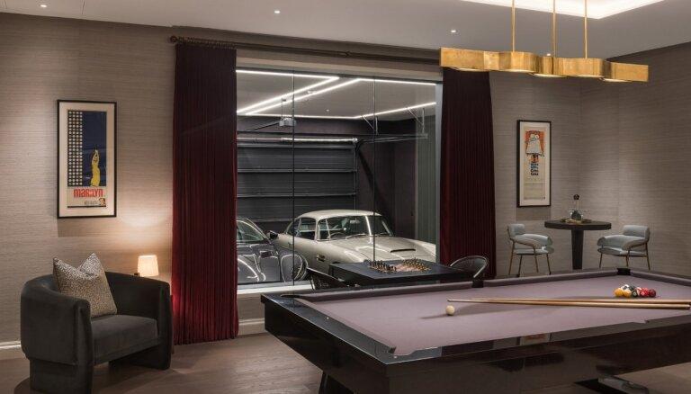 Квартира в стиле секретного агента Джеймса Бонда