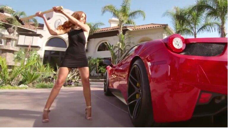 Riteņu diski izturīgāki par pašu 'Ferrari'