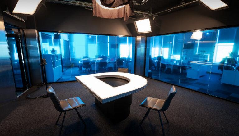 DELFI открывает новую, первую в Латвии студию интернет-телевидения
