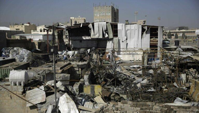 Karš Jemenas attīstību atsviedis atpakaļ par vismaz 20 gadiem, teikts ziņojumā