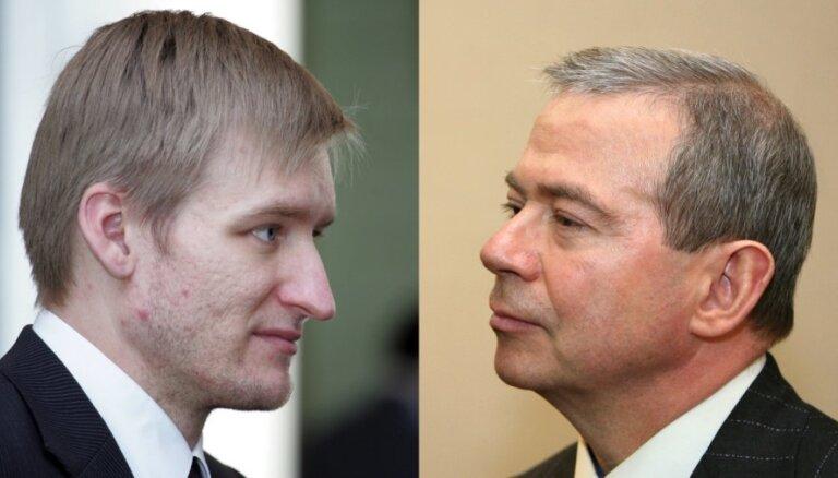 Суд отклонил иск Лембергса к бывшему министру Спруджсу
